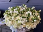 Extra Large Basket with Mixed Flowers