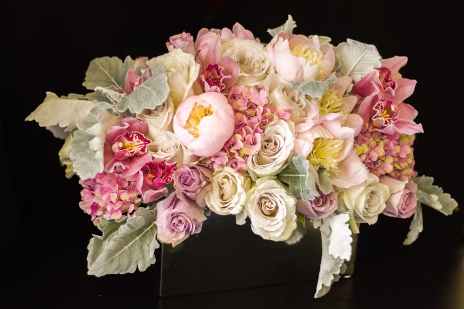 Luxe Flower Design with Roses, Orchids and Peonies
