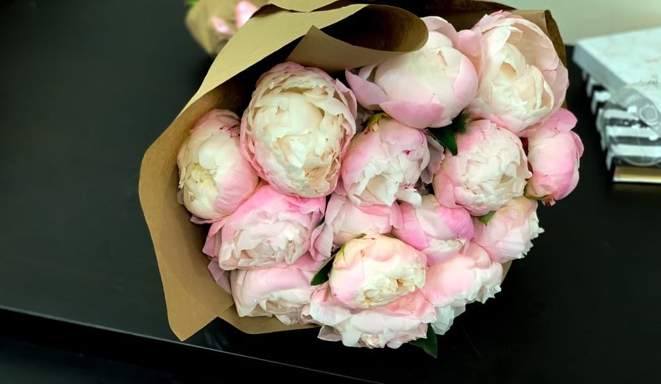 Hand-crafted Peonies Bouquet