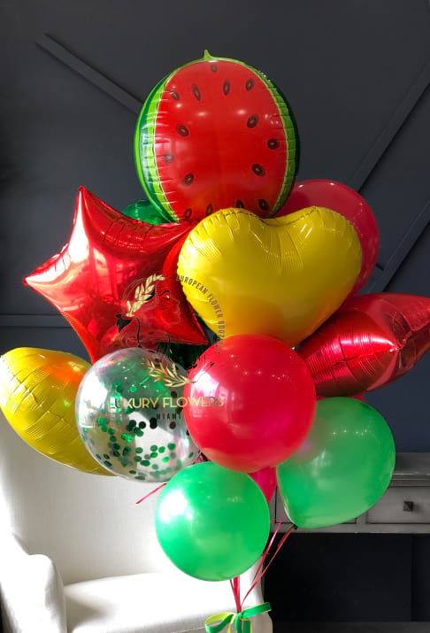 My Bright Watermelon | Balloons Bouquet