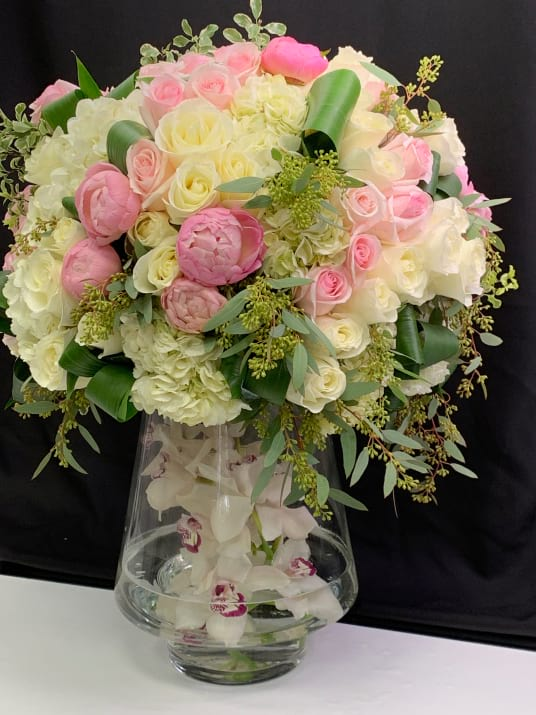 Extra Large Arrangement with Peonies and Mix Flowers