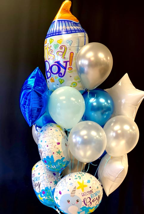 New Baby Balloon Bouquet. Large