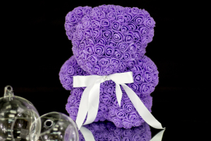 Rose Teddy Bear Small